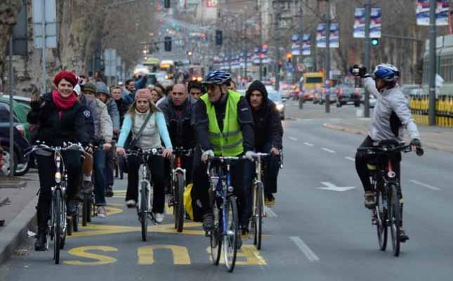 Biciklisti u Beogradu