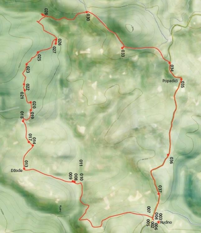 mapa studenac