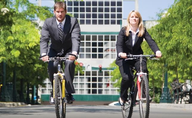 biciklom na posao