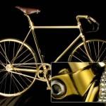 """Bicikl od """"suvog"""" zlata vredan 80.000 evra"""