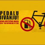 DAJ PEDALU ZAGAĐIVANJU – 36. Beogradska Kritična masa