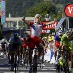 Novi poraz Sagana, etapa za Kristofa