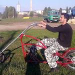 """Čoper bicikl"" iz Bele Palanke"