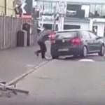Namerno udario biciklistu automobilom, ali ni on mu nije ostao dužan