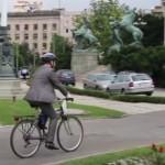 Poslanik na biciklu
