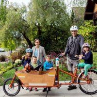 Porodice zamenjuju automobile kargo biciklima