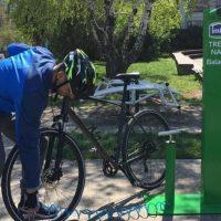Imlek: Samouslužne stanice za bicikle na još 2 lokacije u BG