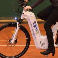 Predstavljen električni bicikl s motorom na vodonik