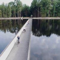 """Belgijski raj za bicikliste: Da li biste provozali svog dvotočkaša kroz """"vodenu stazu"""""""