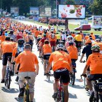 Najmasovnija biciklistička vožnja Orange Bike Ride šesti put u Beogradu