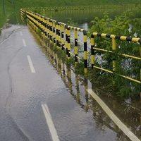 Poplavljeno šetalište u blokovima, muke biciklista na Adi i splavara kod Brankovog mosta