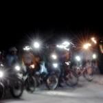 Saobraćajna policija proverava osvetljenost biciklista