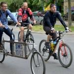 Novosadski biciklisti šalju podršku poplavljenim područjima