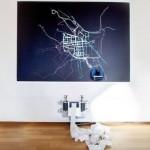 Kako izgleda borba za ulice za bicikliste u Visbadenu – robot koji crta biciklističke staze koje treba sagraditi