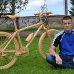Ovo je bicikl napravljen od 31.980 šibica
