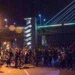 Protest biciklista zbog lifta na mostu