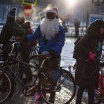 Petsto Moskovljana u vožnji biciklima na -27